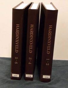 De 3 Boeken Hardinxveld tot 1670 in luxe band