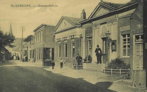 Oud Gemeente huis met Kantongerecht