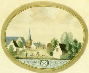 Sliedrecht omstreeks 1750