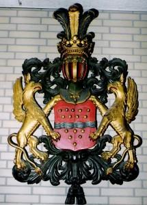 Wapenbord van de familie v.d Merwe